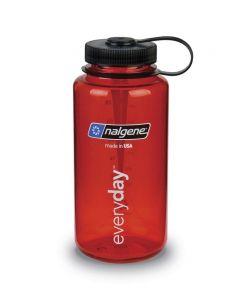 Παγούρι Nalgene Everyday Φαρδύ Διαφανές Κόκκινο 1000 ml   www.lightgear.gr