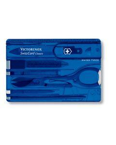 Πολυεργαλείο Victorinox Swisscard Μπλε | www.lightgear.gr