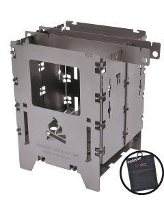 Εστία BushBox LF Titanium Bushcraft Essentials | www.lightgear.gr