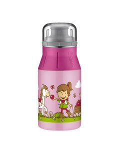 Παιδικό Παγούρι Alfi ElementBottle Kids Farm Ροζ 400ml | www.lightgear.gr