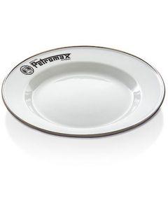 Πιάτο Εμαγιέ Petromax Άσπρο 2Τεμ | www.lightgear.gr