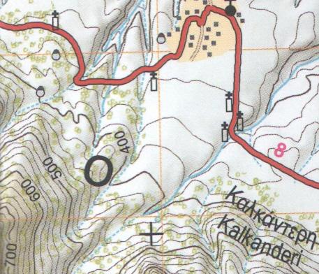 Ισοϋψείς καμπύλες χάρτη | www.lightgear.gr