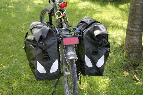 Πλαϊνές τσάντες ποδηλάτου, 100% στεγανές, κατάλληλες για πολυήμερες εκδρομές | www.lightgear.gr