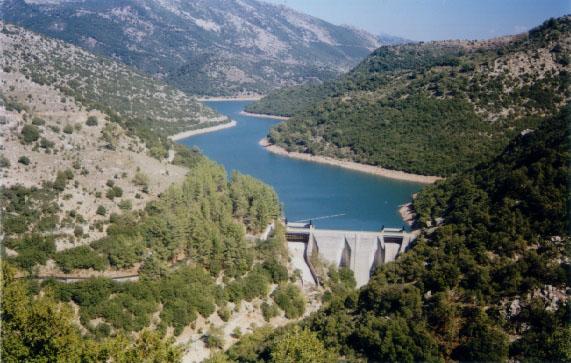 Πανοραμική άποψη του φράγματος του Λάδωνα | www.lightgear.gr