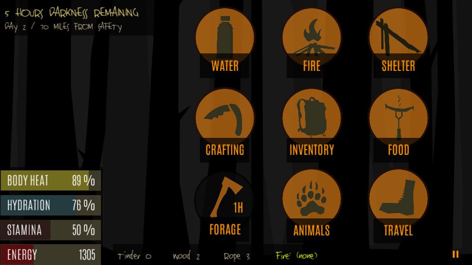 Νύχτα. Σε 5 ώρες ξημερώνει. Φωτιά έχετε ανάψει για να ζεσταθείτε; | www.lightgear.gr