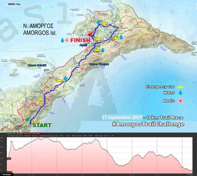 Amorgos Trail Challenge 18 km | www.lightgear.gr