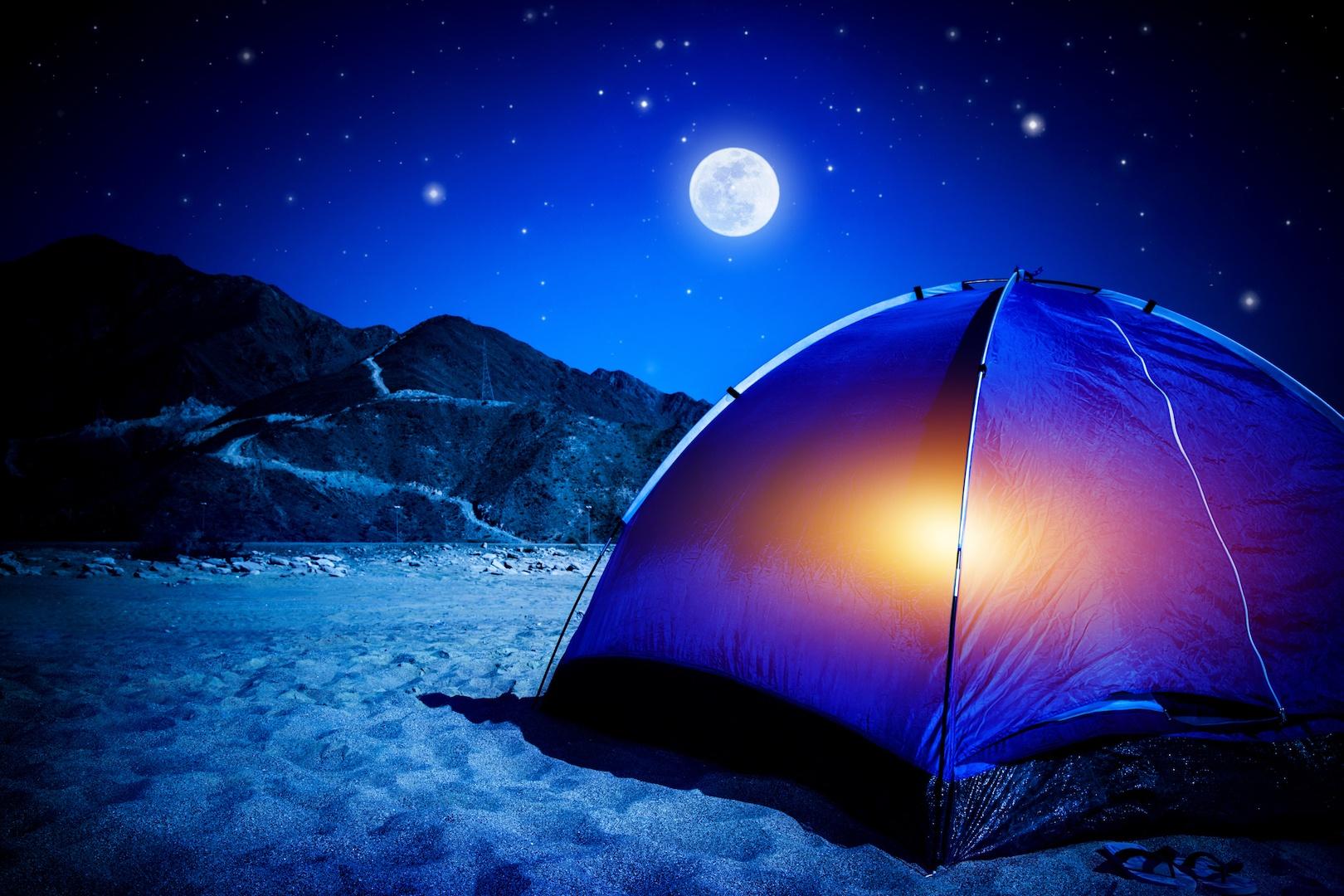 Κοιμηθείτε σαν πουλάκι στο camping