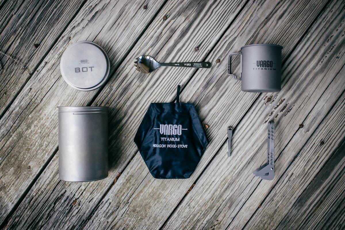 Τα εξαιρετικά προϊόντα τιτανίου της Vargo | www.lightgear.gr
